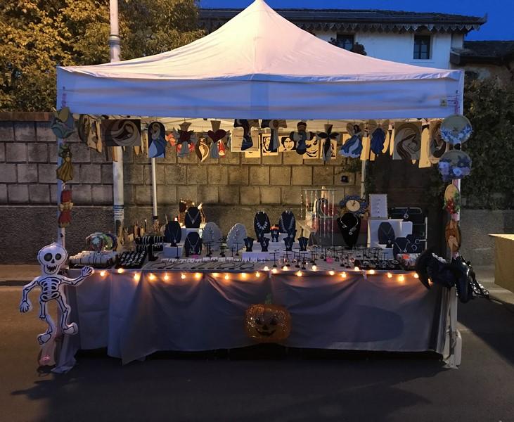 eventi riccioli e nodi Mercatino a Rivignano 2019
