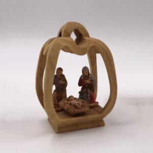 Piccolo presepe in miniatura da collezione