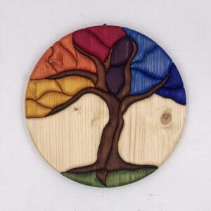 Albero della vita con colori del Chakra 1