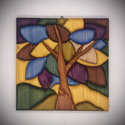Albero della vita con colori del Chakra 2