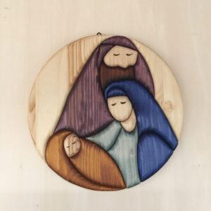 Sacra Famiglia rotonda 1