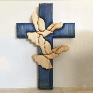 Croce con colombe
