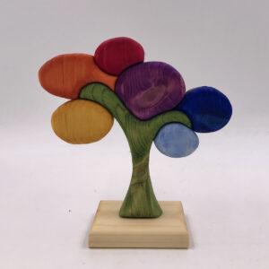 Piccolo Albero della vita con colori del Chakra